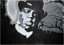 Biggie Smalls portrait by KAVES