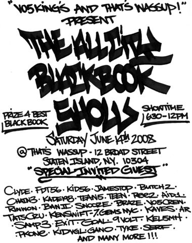 Black Book FLYER